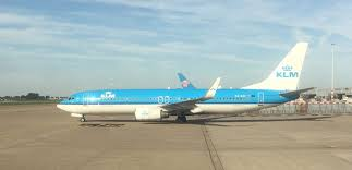 flight review klm economy cl b737