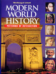 World History Textbook Patterns Of Interaction Unique Mr Krieger's Modern World History Course
