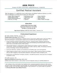 Resume Examples Pdf Awesome Medical Assistant Resume Examples Medical Assistant Resume Examples