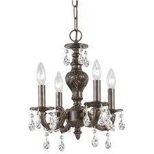 kitchen attractive bronze chandelier with crystal accents 13 cute bronze chandelier with crystal accents 9 71