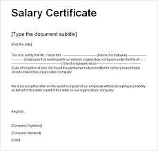 Fresh 6 Salary Certificate Template Uae Sample Salary Certificate