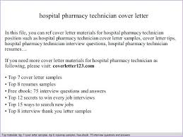 Pharmacy Tech Cover Letter No Experience Pharmacy Technician Cover Letter No Experience Cover Letter For A