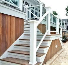 wood stair railing ideas wooden stairways stairs design staircase best railings outdoor kits sta