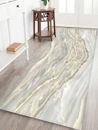 v shape marbling 3d print floor rug