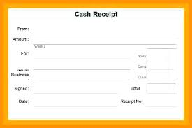 Word Receipts Cash Receipt Voucher Sample Payment Format In Image Doc 6 Template