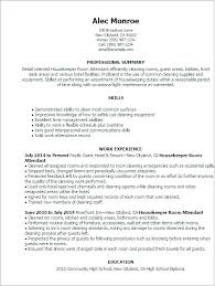 Room Attendant Cover Letter Housekeeping Room Attendant Cover Letter