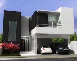 Contemporary House Pillar Ideas Contemporary Black