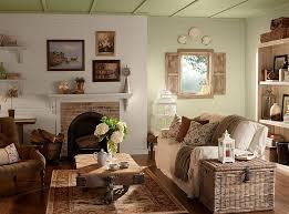 rustic vintage living room decorating