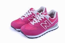 new balance pink. women new balance wl574san retro lovers trainers white pink n