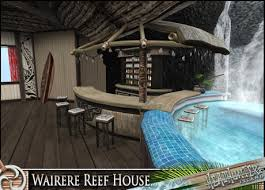 Second Life Marketplace HeadHunters Island Wairere reef house