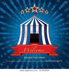 Sample Welcome Banner Welcome Banner Circus Vector Photo Free Trial Bigstock