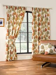 Living Room Ready Made Curtains Inglewood Ready Made Curtains In Terracotta Terrys Fabrics Uk