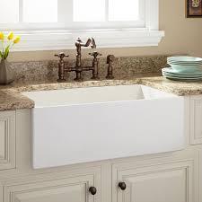 Bathroom Apron Sink 30 Voris Reversible Fireclay Farmhouse Sink Checkered Apron