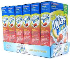 Wyler S Light Strawberry Lemonade Ingredients 14 99 6 Wylers Light Sugar Free Cranberry Apple Singles