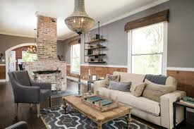 ... Living room, Batson Living Room How To Use Shiplap In Every Room Small  Cottage Living ...