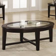 alexis brown glass coffee table set
