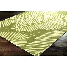 banana leaf rug palm area rugs leaves shaped print