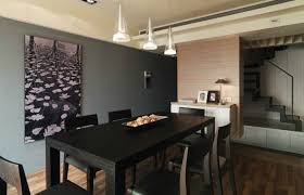 Contemporary Dining Room Paint Ideas With Accent Wall Fabulous And Inspiration