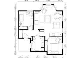 Floor Plan Plans With Dimension Building Simple Telangana Bedroom