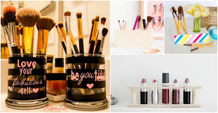 14 awesome diy makeup organizers you can try to make