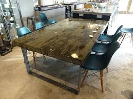 round concrete dining table brilliant concrete dining table h h concrete top tables regarding concrete dining table