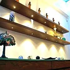 led lights shelf light with shelves corner floating shelf with led light walnut shelves lights h led lights shelf