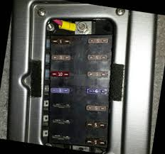 2004 tracker fuse box you can zoom in and see em but i only have a couple labeled sorry 2nd down left side as looking nav lights 1st down left side i think aerator