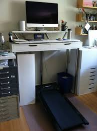 My Ikea hack treadmill desk!