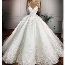 <b>Vestidos De Novia 2019</b> Arabic Luxury Beaded Wedding Dress ...