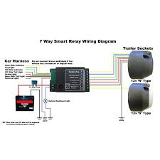 beautiful smart bypass relay teb7as 7 way towing and trailers 7 Way Electrical Diagram beautiful smart bypass relay teb7as 7 way towing and trailers ltd as well as wiring 7 way wiring diagram