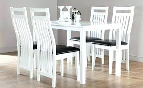 dining room table and chairs argos white table and chairs fabulous white wooden dining table and