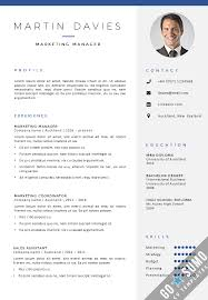 International Format Resume All Cv Templates Go Sumo