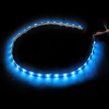 led lights blue car truck grille kit 2 piece bright led strip lights