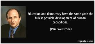 Quotes About Democracy And Education. QuotesGram via Relatably.com