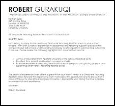 Cover Letter For Assistant Teacher Position Cover Letter Cover