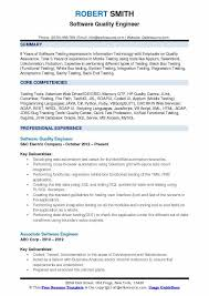 Quality Engineer Resume Custom Software Quality Engineer Resume Samples QwikResume