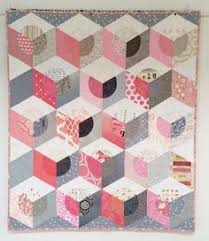 Baby Block Quilt Patterns Simple 48 Best Tumbling Blocks Quilts Images On Pinterest Tumbling