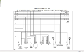 i need pin out for 1807457c1 ecm on dt466 engine in international 4900 1997 international 4700 wiring diagram at 2000 International 4900 Wiring Diagram