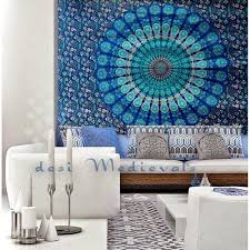 wall tapestries ikea mandala tapestry whole ready to hang art hippie bedroom inspired black and white wall tapestries ikea
