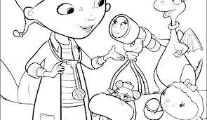 Doc Mcstuffins Coloring Pages Online Disney Jr Doctor Who Pag Sheets