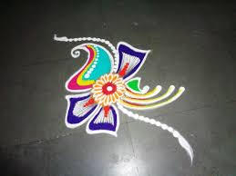 How To Make New Fancy Rangoli Design Youtube
