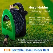 rolio expandable garden hose with hose