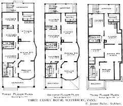 Victorian Row House Plans Historic Brownstone Floor Plans    Victorian Row House Plans Historic Brownstone Floor Plans