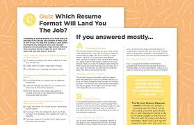 Resume Formatting Interesting Formatting Your Resume Like This Can Help You Land The Job Career