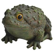 garden frog statue. Alpine Frog Leaping Garden Statue R