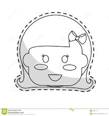 Cute Kid Icon Stock Illustration Illustration Of Face 84381777