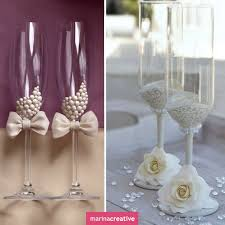 Wine glass decorating ideas for weddings Unpatent Wedding Cups Wedding Toasts Wedding Favors Wedding Gifts Diy Wedding Wedding Pinterest Pin By Harriett On Prom 18 Wedding Glasses Wedding Wedding Wine