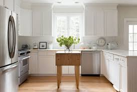 white country kitchen with butcher block. Farmhouse Kitchen Table White Country With Butcher Block C