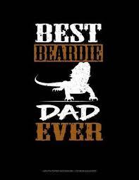 Best Beardie Dad Ever Graph Paper Notebook 1 2 Inch