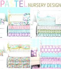 bright crib bedding sets pastel baby bedding bright nursery bedding sets